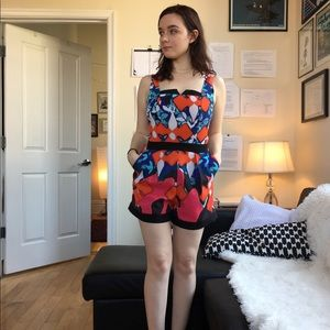 Peter Pilotto for Target Abstract Floral Romper